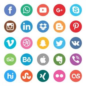 set-de-botones-de-colores-de-redes-sociales_1057-406